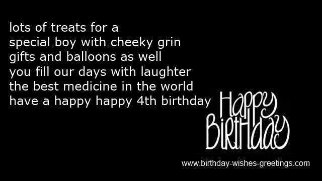4th Birthday Wishes Daughter Amp Greetings Wording