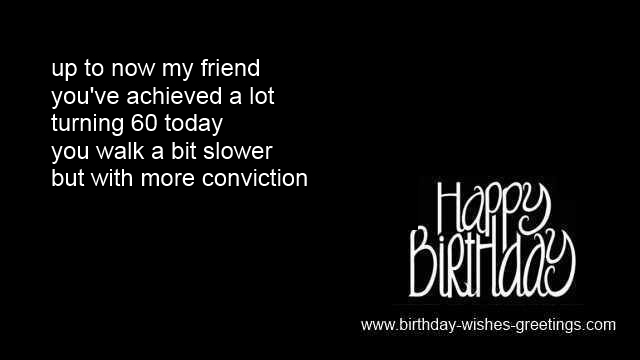 Birthday Card Messages 60th Husband Funny Quotes