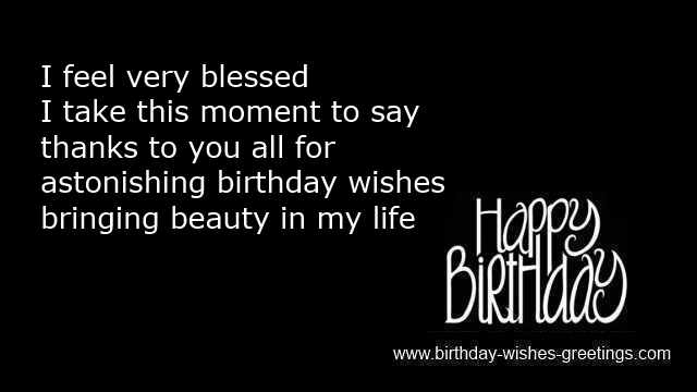 Reply On Birthday Wishes And Thanks Birthday Replies Greetings