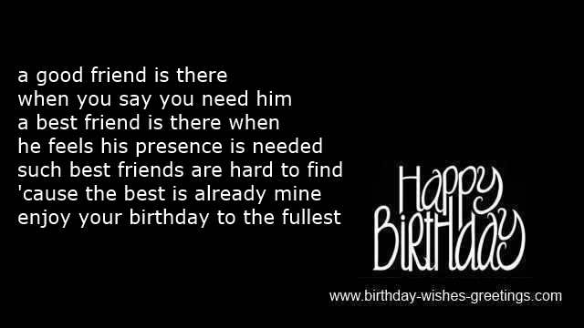 funny message birthday best friend