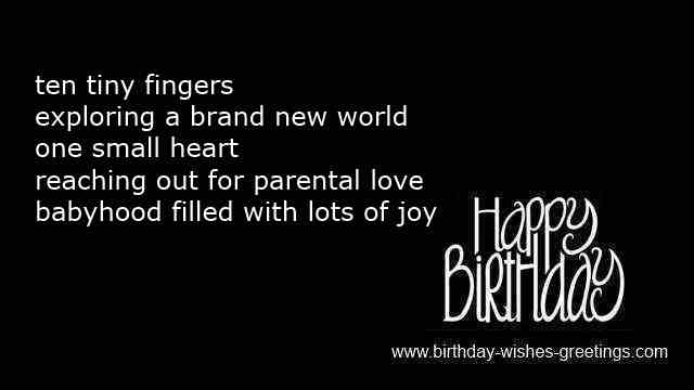 Birthday Wishes Boy Baby ~ New born birthday wishes baby boy or newborn birth girl