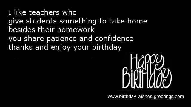 Teacher birthday card greetings with happy wishes and poems birthday cards belated ecards birthday teacher m4hsunfo