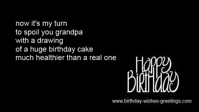 Grandpa birthday sayings and grandfather greeting cards wishes