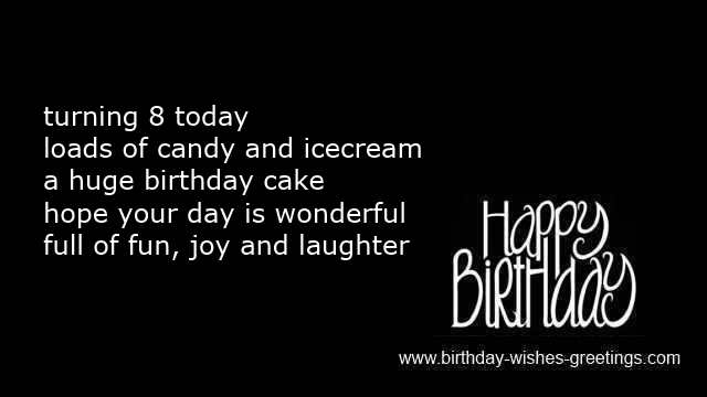 8 year old boy birthday quotes