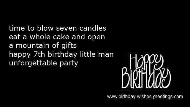 wishes for my son 7 year old birthday sayings for daughter