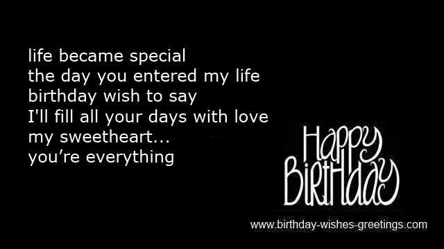 Romantic birthday poems and loving romance birthday greetings birthday card messages birthday romantic sms message wife romantic birthday wishes m4hsunfo